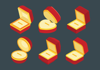 Free Ring Box Icons Vector - vector #410531 gratis