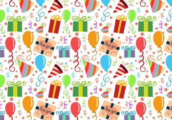 Free Party Pattern Vectors - Kostenloses vector #410671