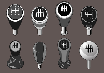 Gear Shift Free Vector - vector gratuit #411011