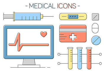 Free Medical Icons - vector gratuit #411431