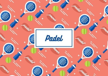 Padel Background - vector gratuit #411441