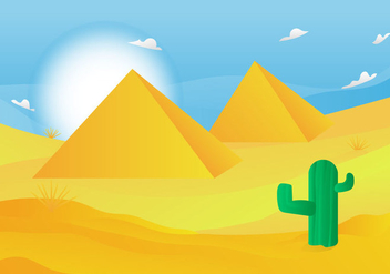 Free Piramide Vector Illustration - Free vector #411571