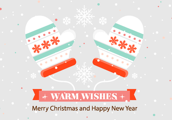 Free Vector Christmas Background - vector gratuit #411841
