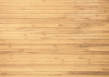 Vector Wood Planks Background - Free vector #411941