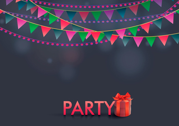 Party Favors Illustration Template - vector gratuit #412051