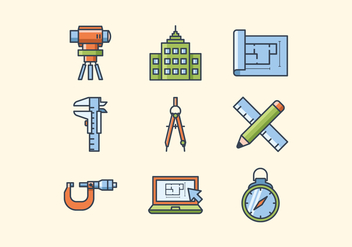 Free Engineer Icons - vector gratuit #412091