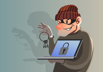 Data Theft - Free vector #412101