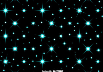 Vector blue stars SEAMLESS PATTERN - Free vector #412771