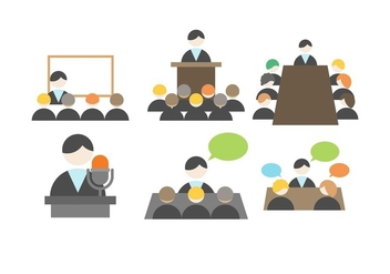 Free Business Meeting Vector - Kostenloses vector #412911