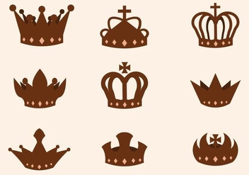 Free British Crown Vector - vector #412981 gratis