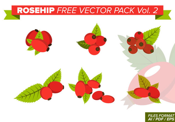 Rosehip Free Vector Pack Vol. 2 - Free vector #413011