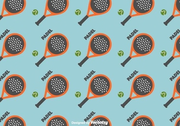 Free Padel Pattern - Kostenloses vector #413241