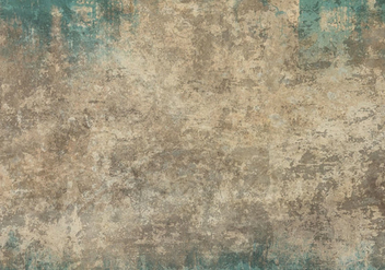 Free Vector Grunge Texture In Blue And Beige - Free vector #413541