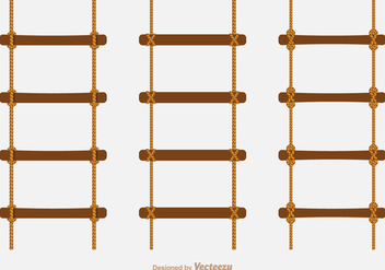 Free Vector Rope Ladders - бесплатный vector #413571