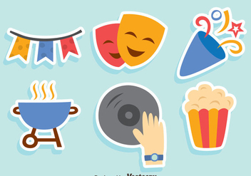 Nice Party Element Vector - vector #413731 gratis