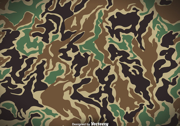 Camouflage Vector Background - vector gratuit #413791