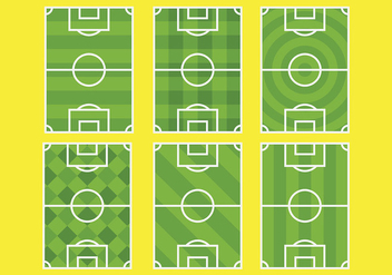 Free Football Ground Icons Vector - vector gratuit #414221
