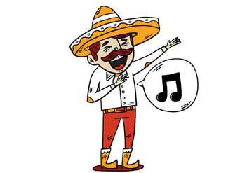 Free Mariachi Background - Free vector #414451