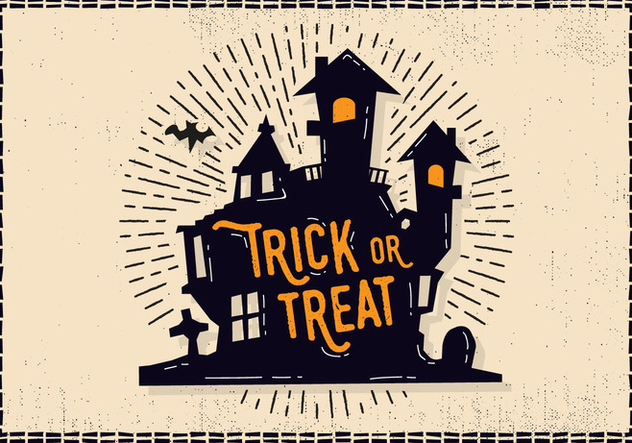Free Halloween Castle Illustration - Kostenloses vector #414461