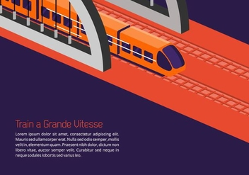 TGV Background - vector gratuit #414531