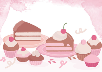 Vector Sweets Collection - бесплатный vector #414671