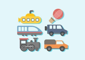 Free Vehicle Vector - Kostenloses vector #414691