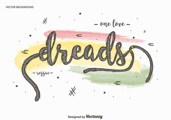 Free Dreads Background - Kostenloses vector #414731