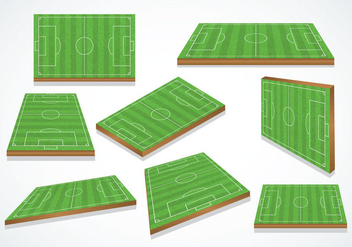 Free Football Ground Vector - vector gratuit #414781
