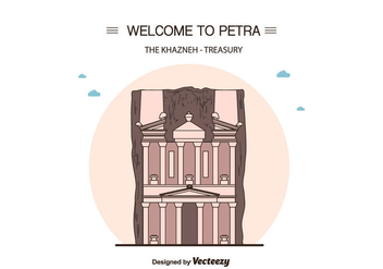 Petra Vector Background - vector #415191 gratis
