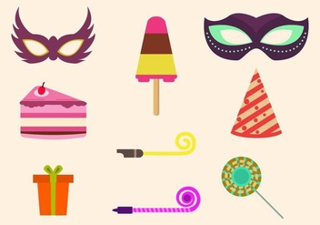 Free Party Vector Icons - vector #415361 gratis