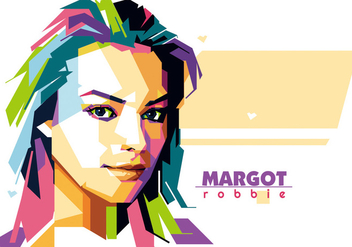 Margot Robbie - Hollywood Life - WPAP - Free vector #415411