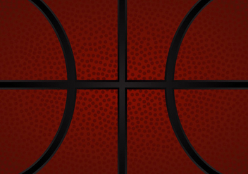 Free Basketball Texture Vector Illustration - vector gratuit #415551