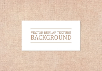 Vector Burlap Texture Background - бесплатный vector #415801