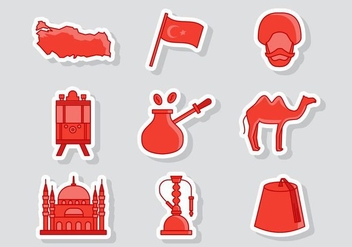 Free Turkey Icons Vector - vector gratuit #415901