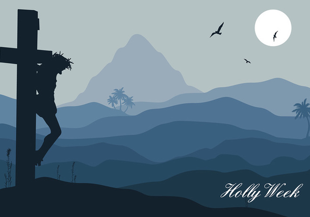 Holy Week Night Free Vector - vector gratuit #415931