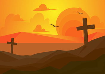 Free Holy Week Vector Illustration - бесплатный vector #416091