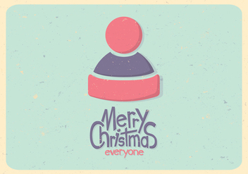 Pastel Winter Hat Vector - бесплатный vector #416221