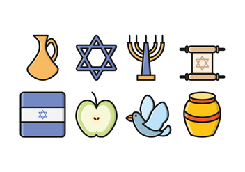 Free Israel Icon Set - бесплатный vector #416291