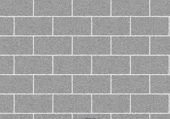 Vector Concrete Brick Background - Free vector #416321