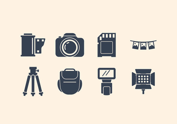 Free Camera And Photography Icon Set - бесплатный vector #416341