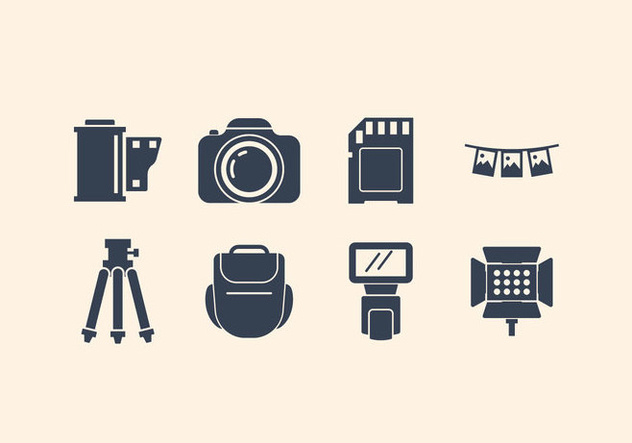 Free Camera And Photography Icon Set - vector gratuit #416341