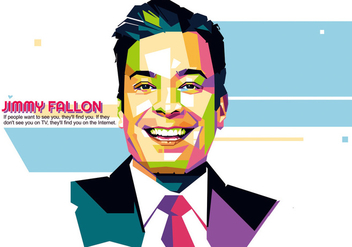 Jimmy Fallon - Hollywood Life - WPAP - Kostenloses vector #416471