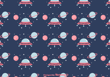 Space Vector Pattern - бесплатный vector #416551