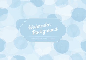 Vector Blue Watercolor Background - Free vector #416851
