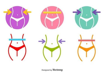Slimming Vector Icons - Kostenloses vector #416891