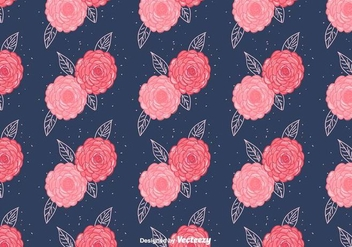 Free Camellia Vector Pattern - Free vector #417041