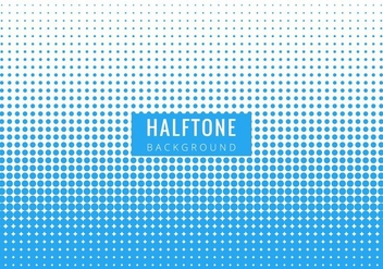 Free Vector Halftone Background - vector #417561 gratis