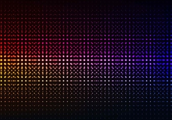 Free Vector Colorful Glowing Halftone Background - vector #417571 gratis