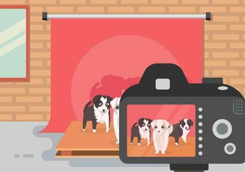 Free Border Collie Illustration - vector gratuit #417951