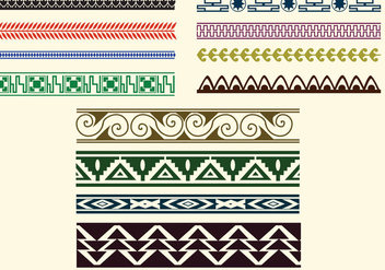 Decorative Versace Border - vector #418051 gratis
